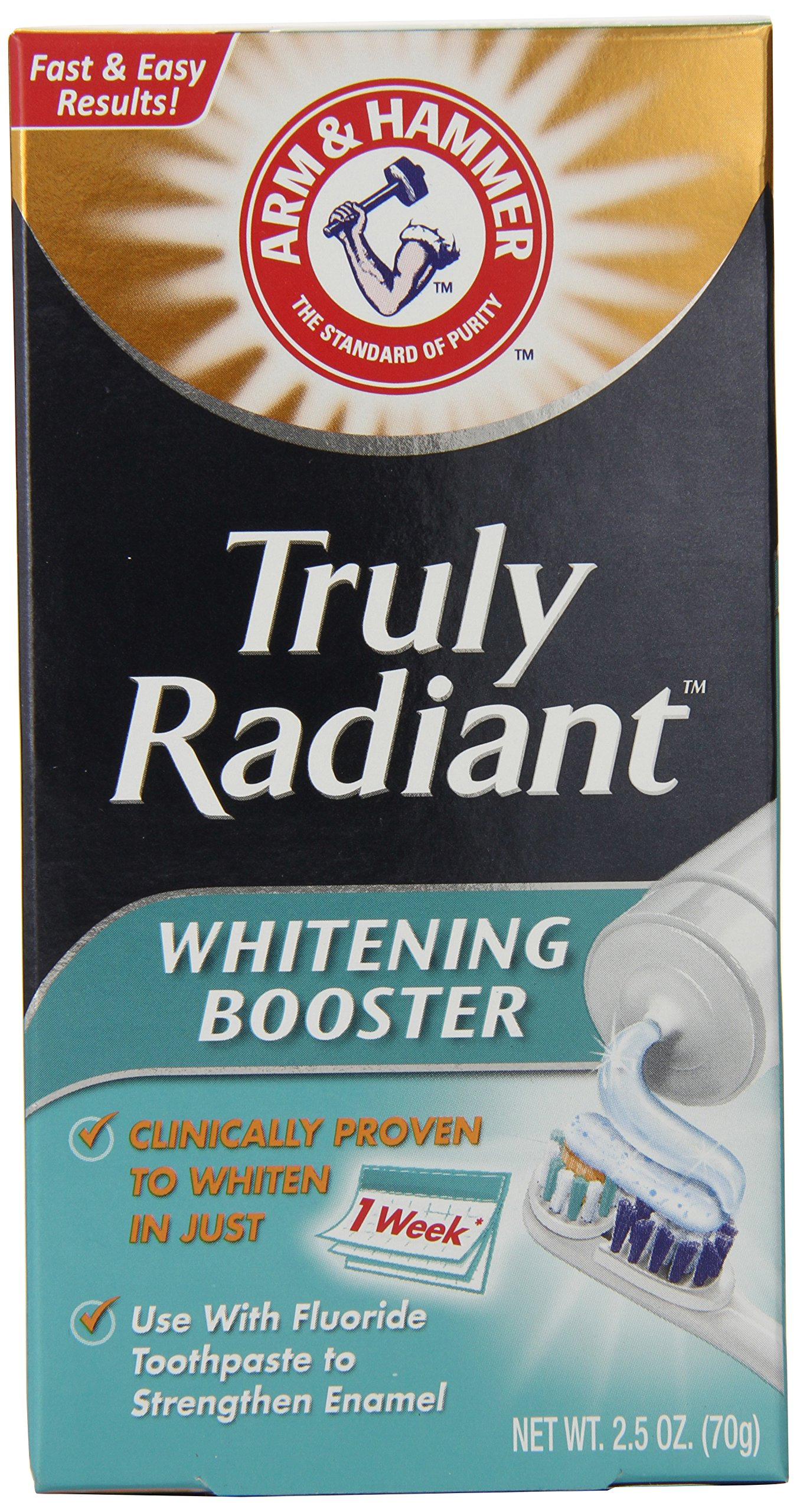 Arm and Hammer Whitening Booster, 2.5 Ounce