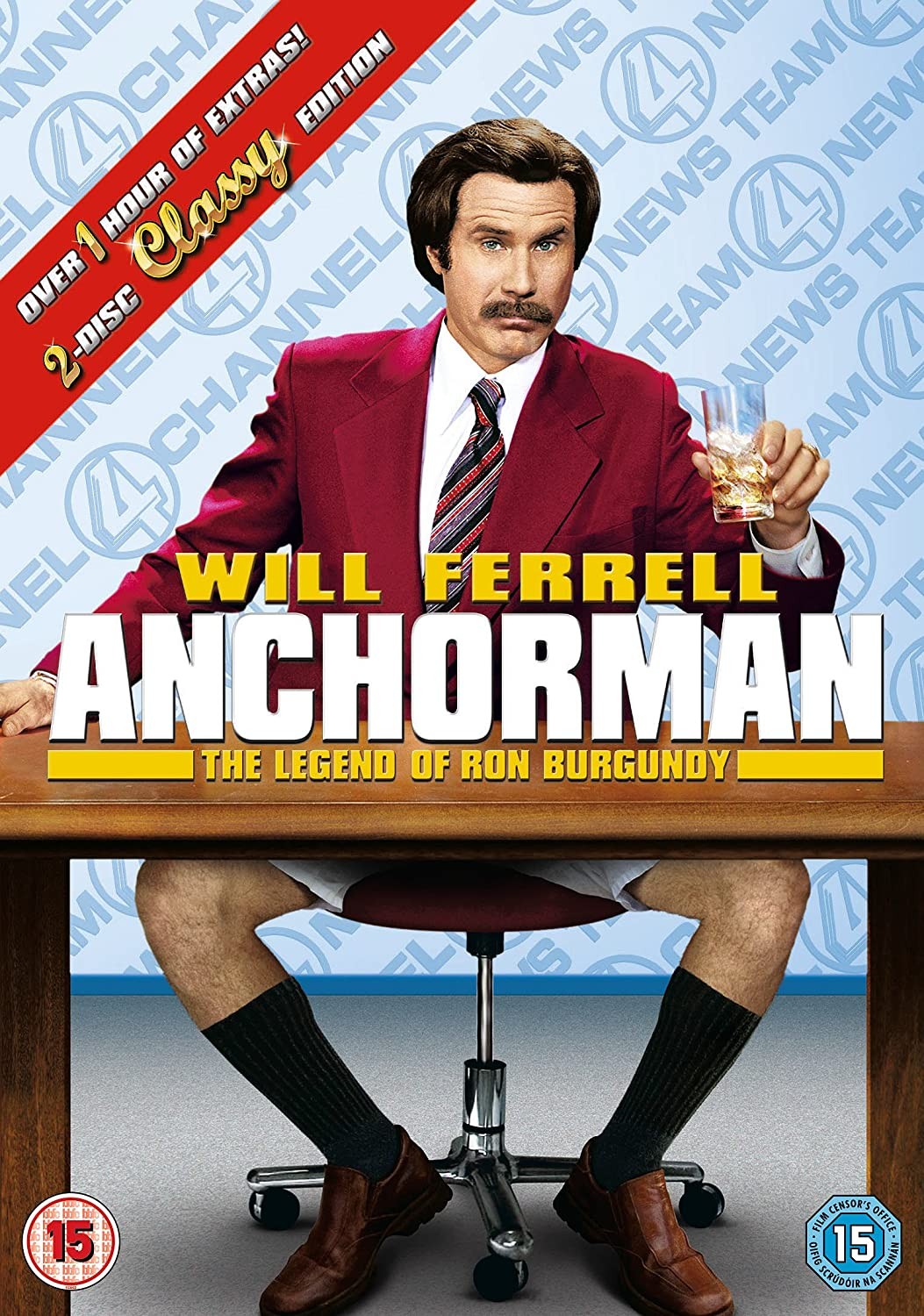 Anchorman: 2 - The Legend Of Ron Burgundy Disc Special ...