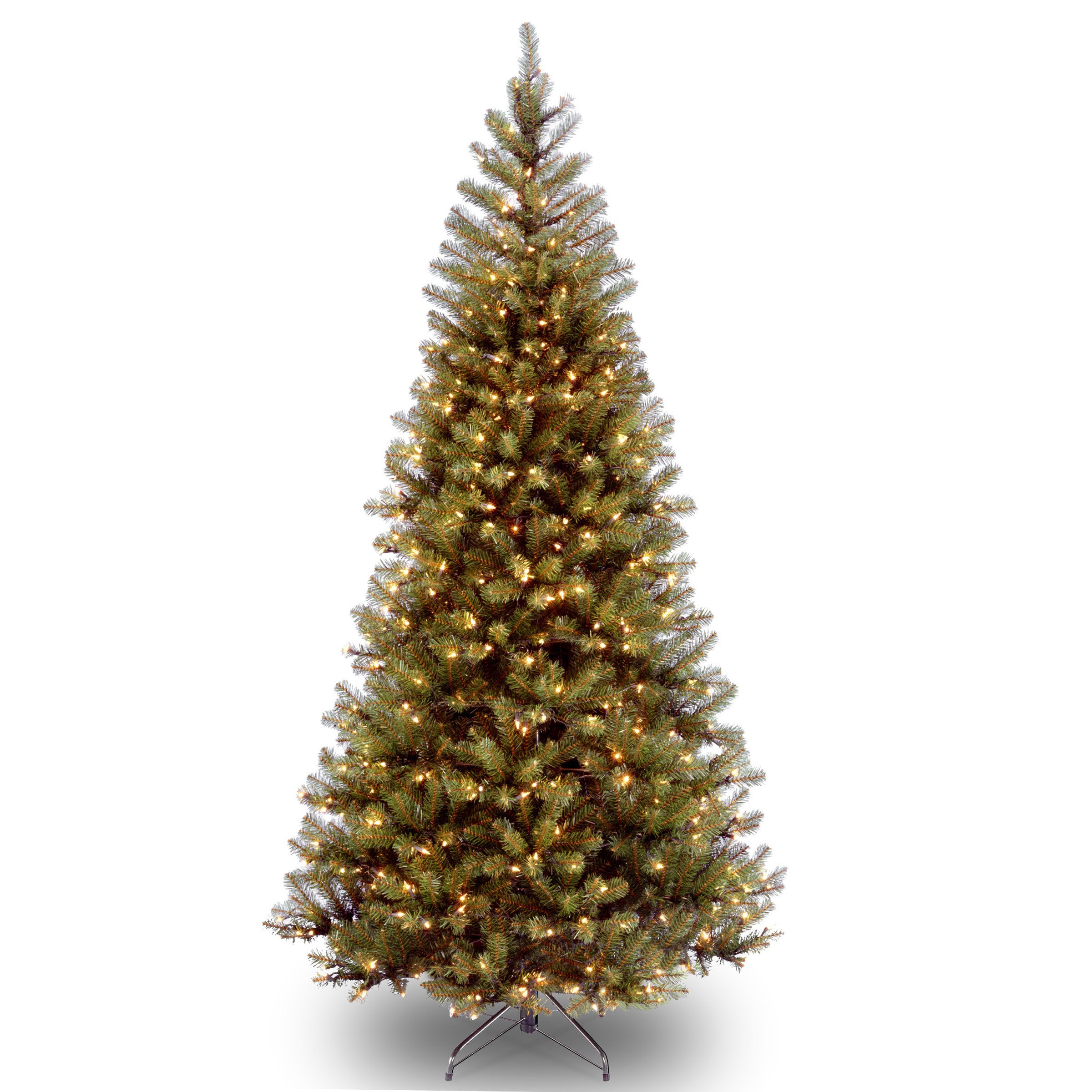 National Tree 6 Foot Aspen Spruce Tree with 300 Clear Lights, 6 Foot (AP7-300-60)