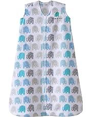 Halo Innovations Sleep Sack Wearable Micro Fleece Blanket, Elephant Texture, Large