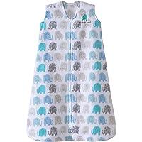 Halo Innovations Sleep Sack Wearable Micro Fleece Blanket, Elephant Texture, Medium