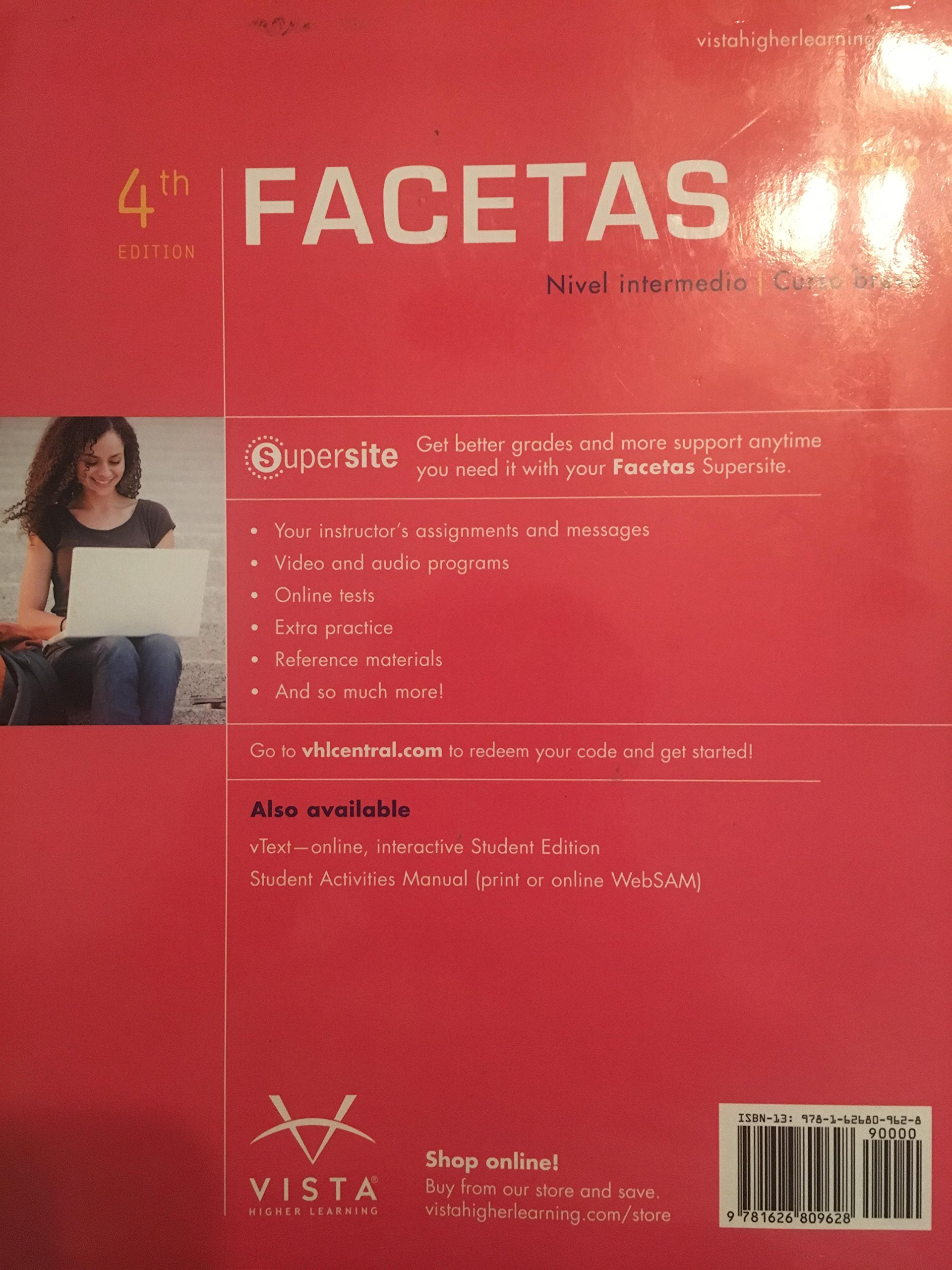 Facetas 4e Student Edition: Jose A Blanco, vhl: 9781626809628: Amazon.com:  Books