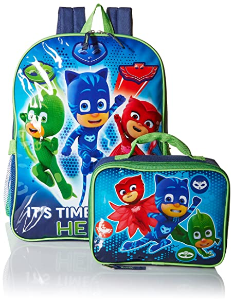 PJ Masks Pj Masks 16 Backpack With Detachable Lunch Accessory