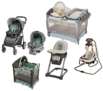 Amazoncom Winslet Collection Travel System Pack N Play Playard