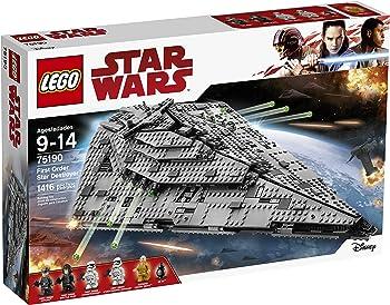 LEGO Star Wars First Order Star Destroyer 75190 Building Kit