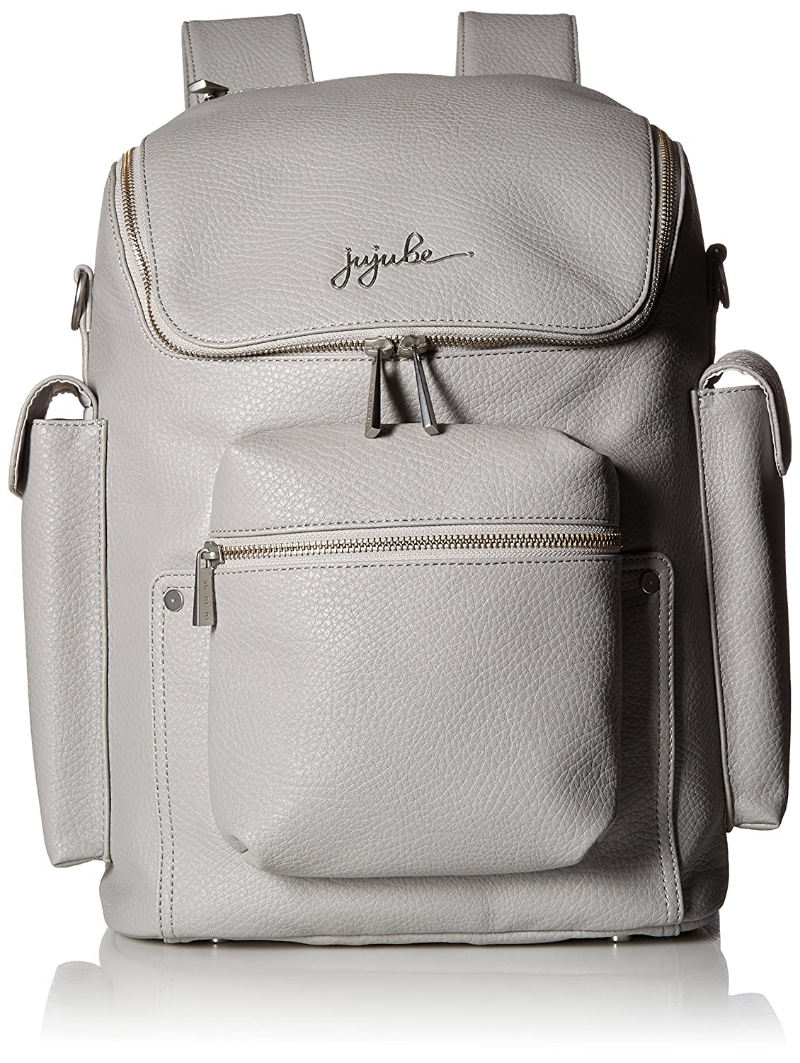 Amazon.com   JuJuBe Forever Backpack Multi-Functional Vegan Leather Diaper  Bag, Ever Collection - Stone   Baby 6e4a54480c