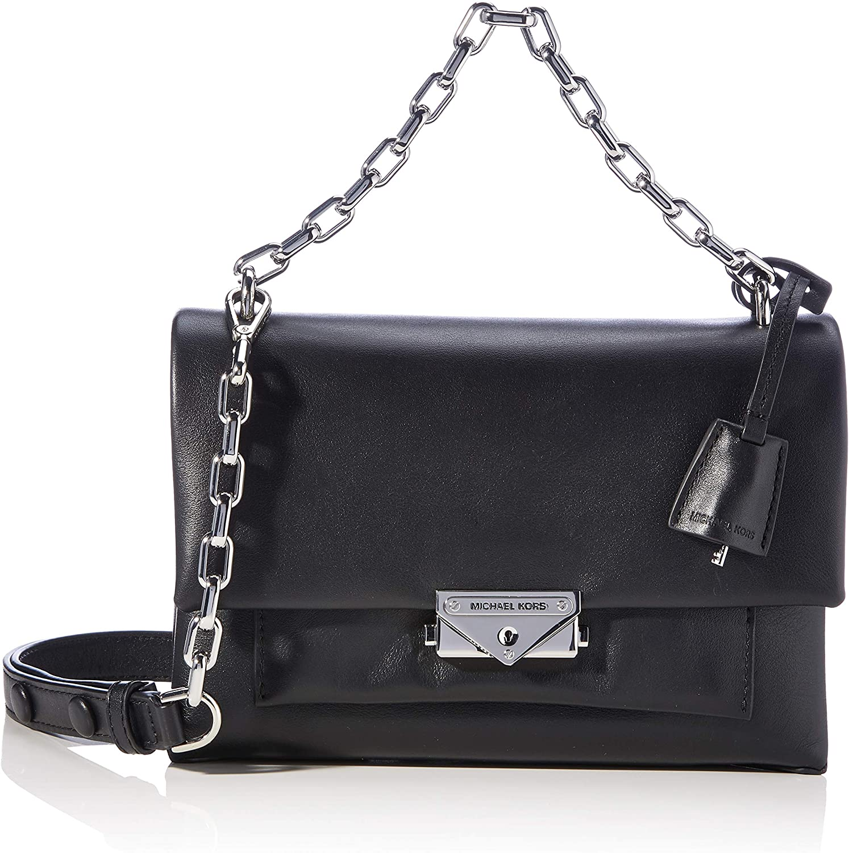 Michael Kors Womens Cece Handtasche Black Medium Schuhe Handtaschen