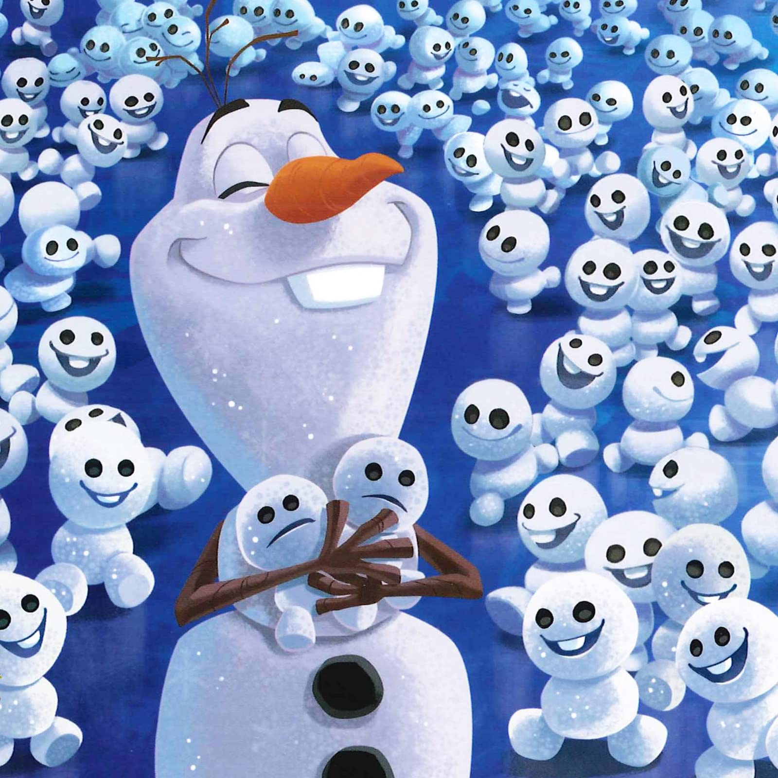 ディズニー Ipad壁紙 アナと雪の女王 オラフのちいさなおとうとたち アニメ スマホ用画像
