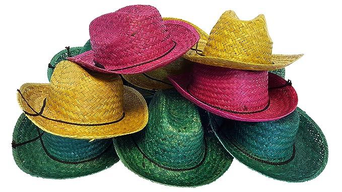 Amazon.com  Dondor Cowboy Hats For Adults f0afa246690