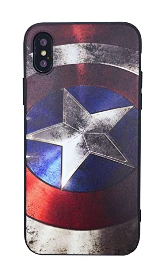 captain america iphone xs case