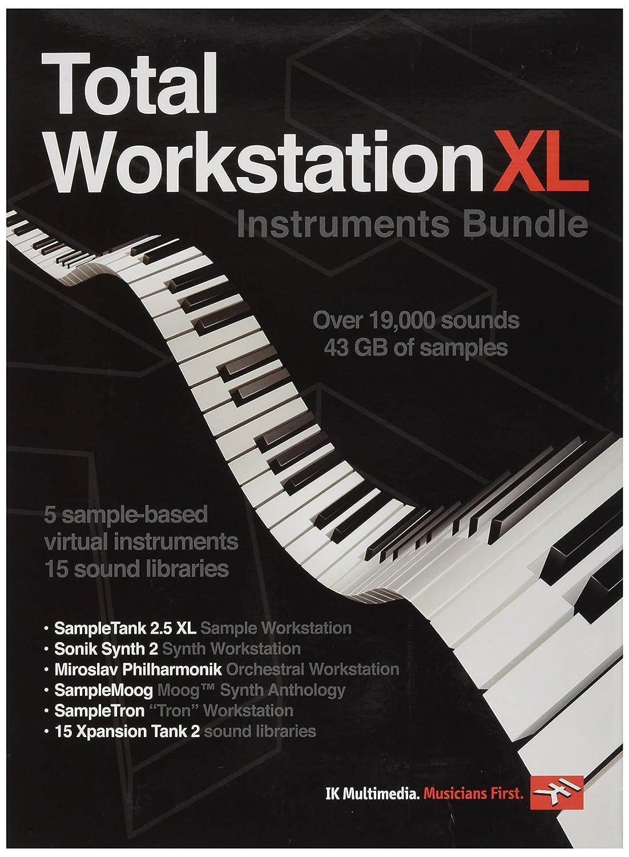 TOTAL WORKSTATION XL INSTRUMENTS BUNDLE SOFTWARE IK Multimedia 03-10014