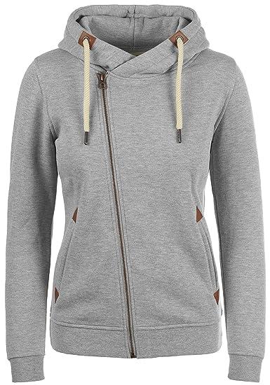 682d17b9447 Desires Vicky Zip-Hood Women s Zip Up Hoodie Sweater Hooded Jacket with Hood  with Fleece Lining