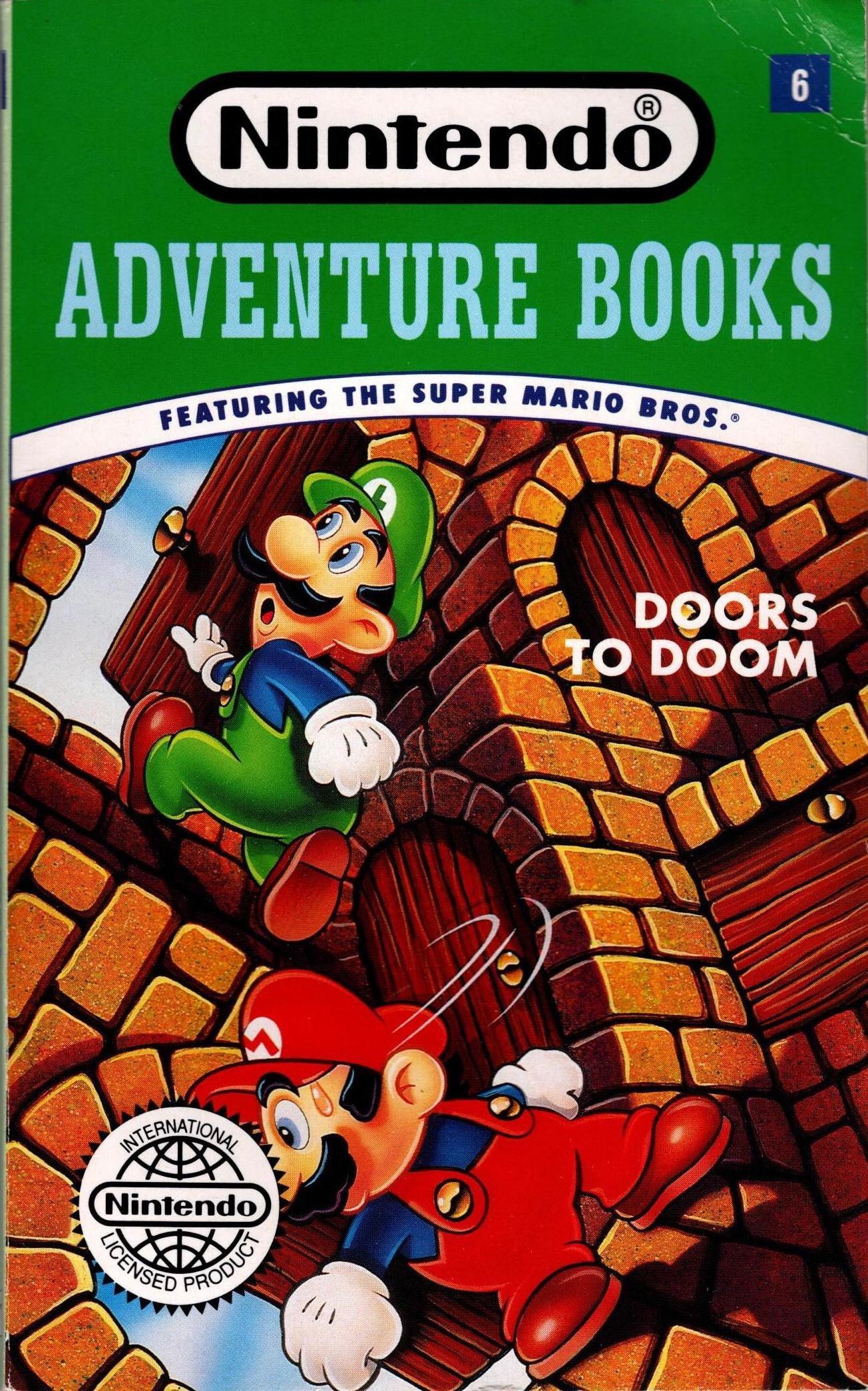 Doors to Doom (Nintendo Adventure Books): Amazon.es: McCay ...