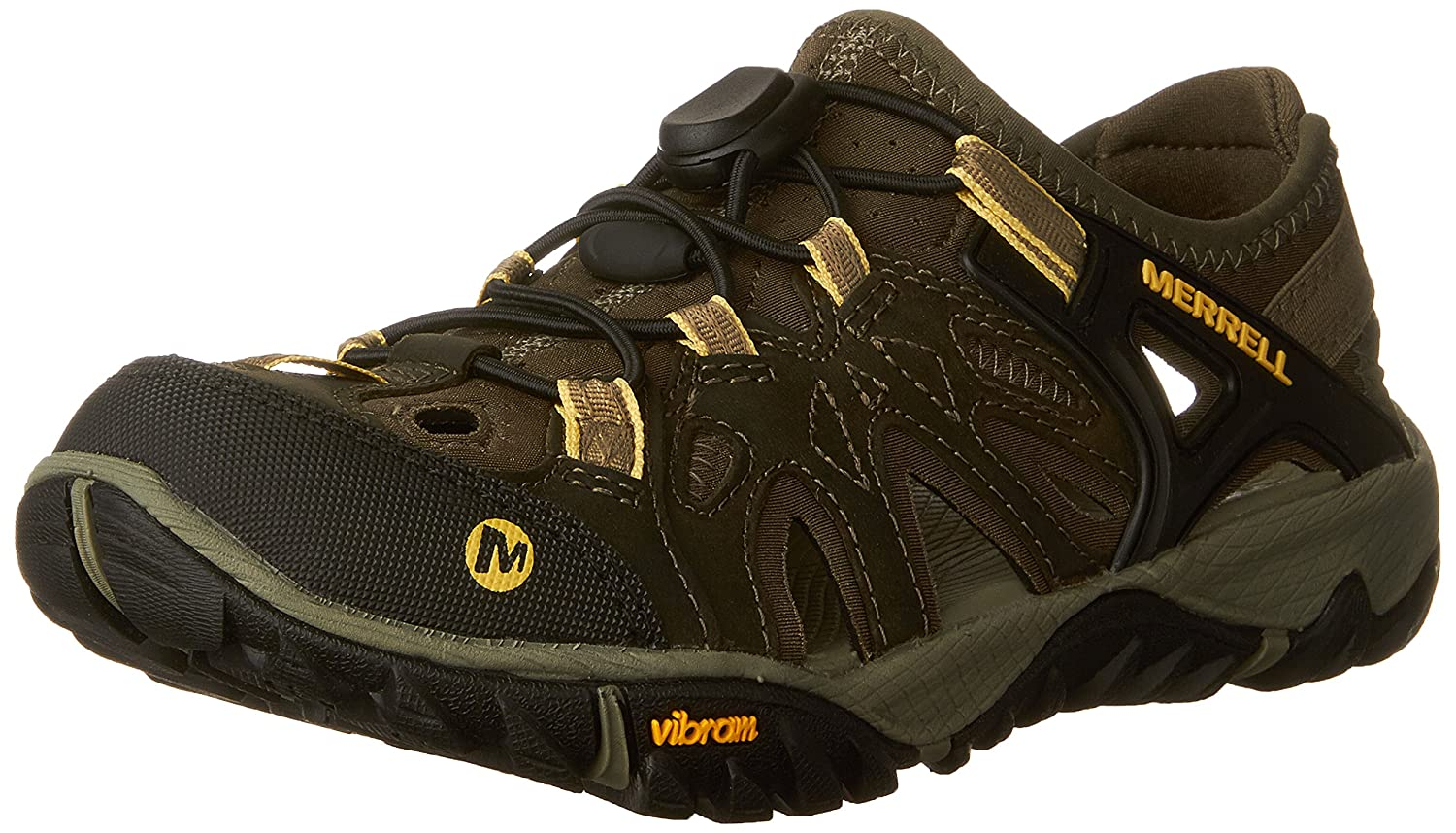 Merrell Women's All Out Blaze Sieve Water Shoe B01N2JHYH9 10 B(M) US|Olive Night