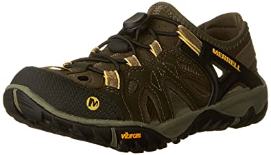 Merrell Sandales All Out Blaze Sieve M Olive Night - Chaussures Sandale