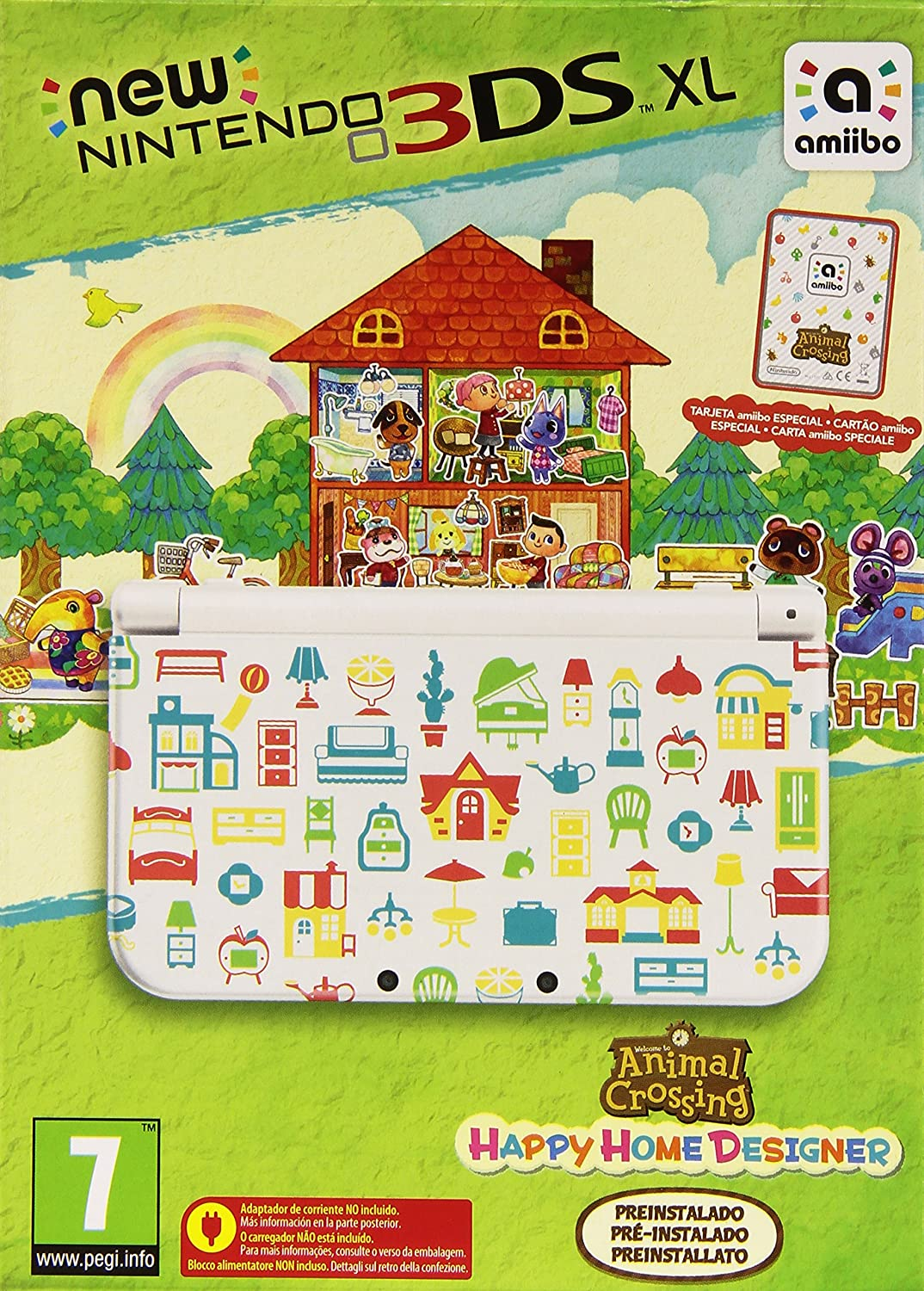 New Nintendo 3DS - Consola XL + Animal Crossing Happy Home ...