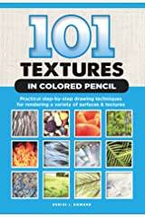 101 Textures in Colored Pencil Kindle Edition