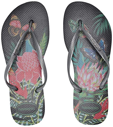 9828f1f2d7c2 Havaianas Women s Slim Tropical Sandals Pink  Havaianas  Amazon.ca ...