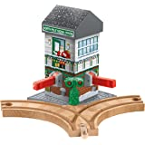 Thomas & Friends Fisher-Price Wooden Railway, Christmas Crossings - Battery Operated