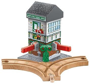 Fotos Cena Navidad Frinsa.Fisher Price Thomas Friends Wooden Railway Christmas Crossings Battery Operated
