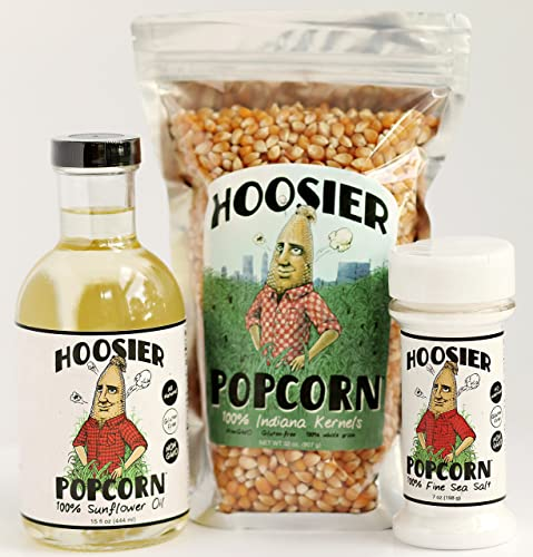 Hoosier Popcorn Ultimate Stovetop Kit