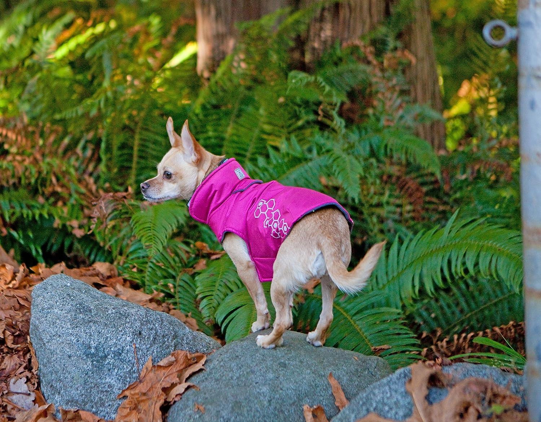 Water Resistant Dog Coat Reflective Crimson Size 16 RC Pet Products Venture Outerwear Fleece Lined