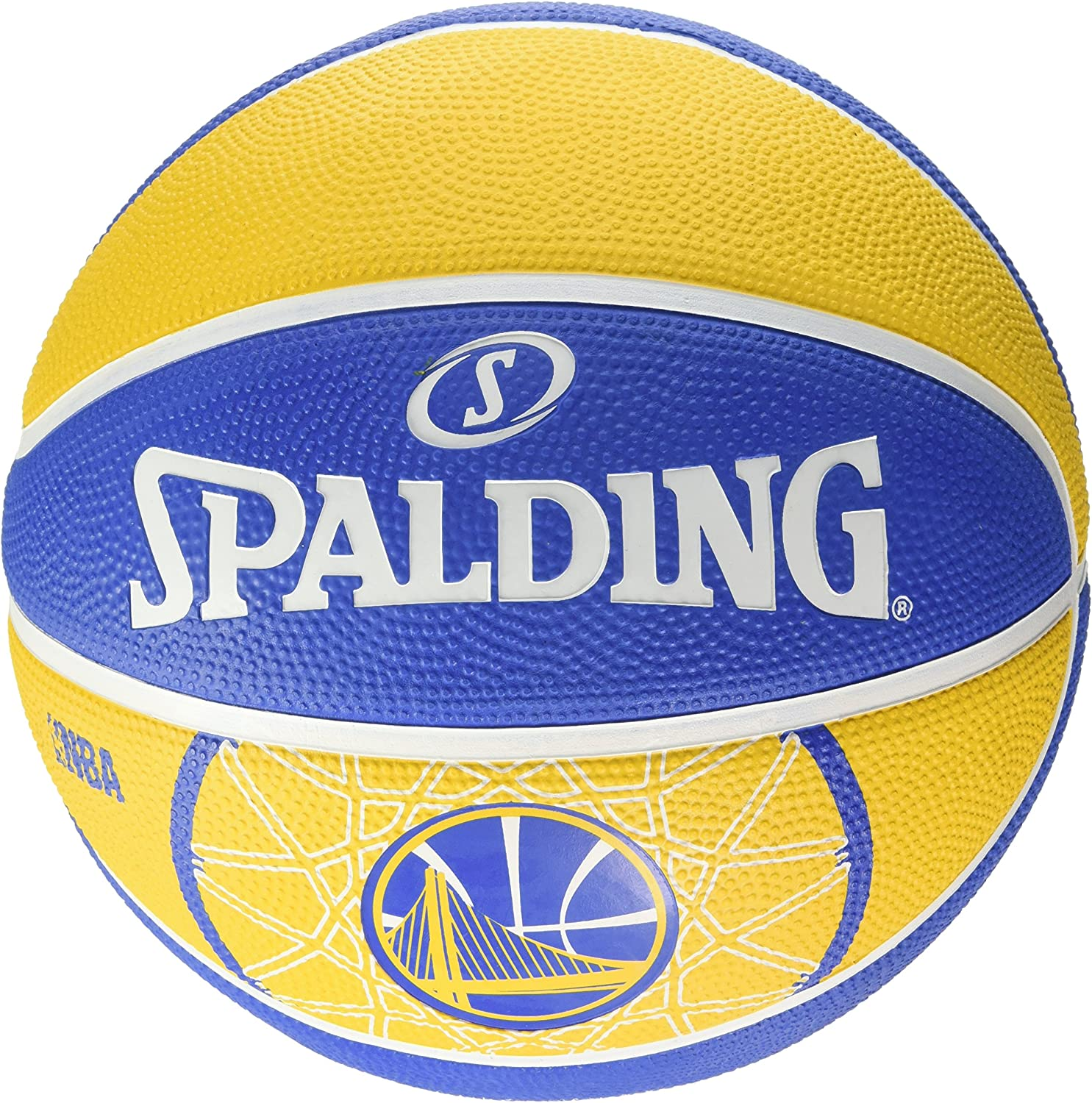 Spalding Ball NBA Team Golden State 83 – 303z, Amarillo/Azul, 5 ...
