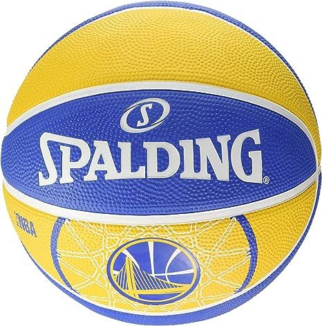 Spalding Ball NBA Team Golden State 83 – 303z, Amarillo/Azul, 5 ...