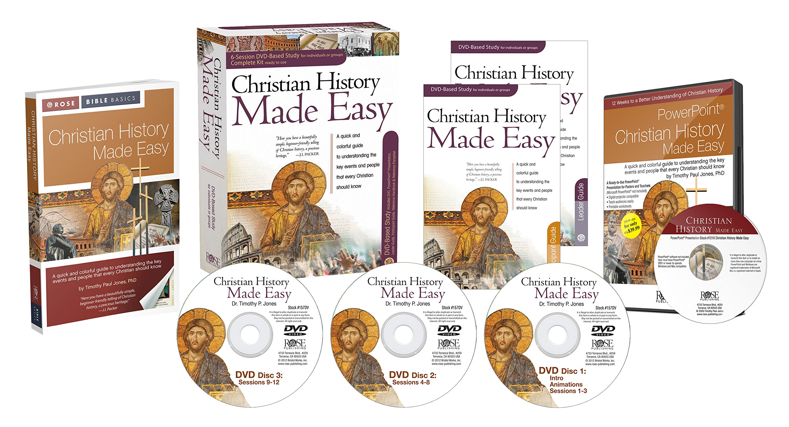 Download Complete Kit for Christian History Made Easy 12-session DVD-based study PDF