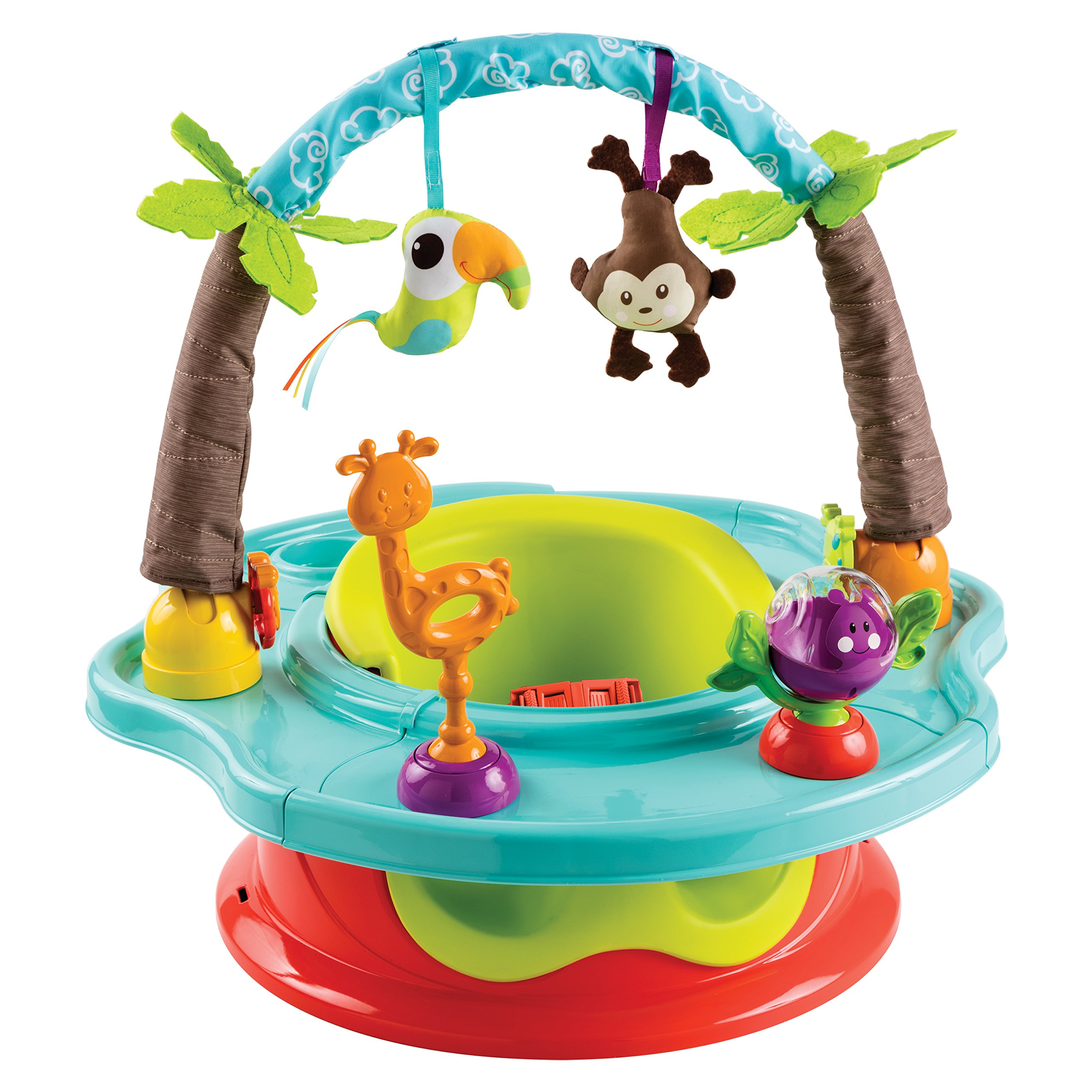 Summer Infant 3-Stage Deluxe SuperSeat, Wild Safari