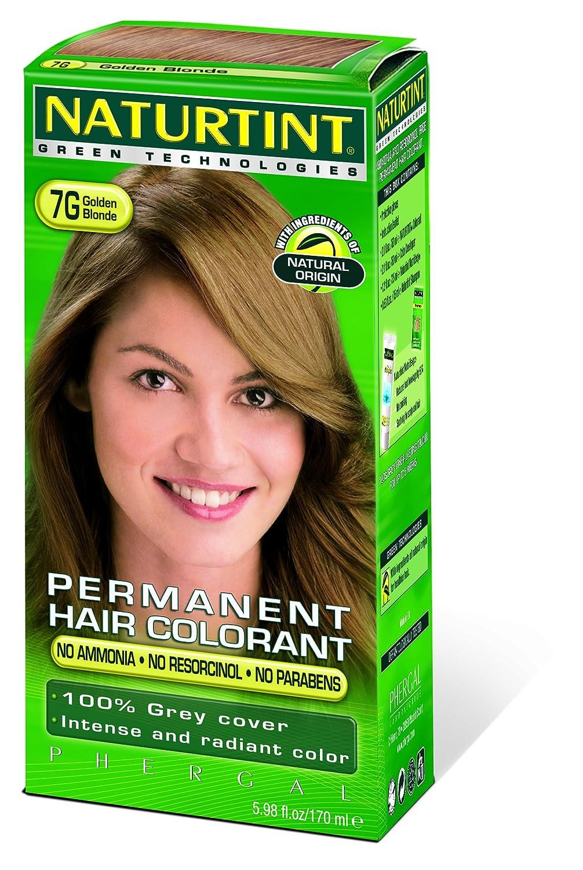 Naturtint Permanent Golden Blonde 7G 2 Ounces