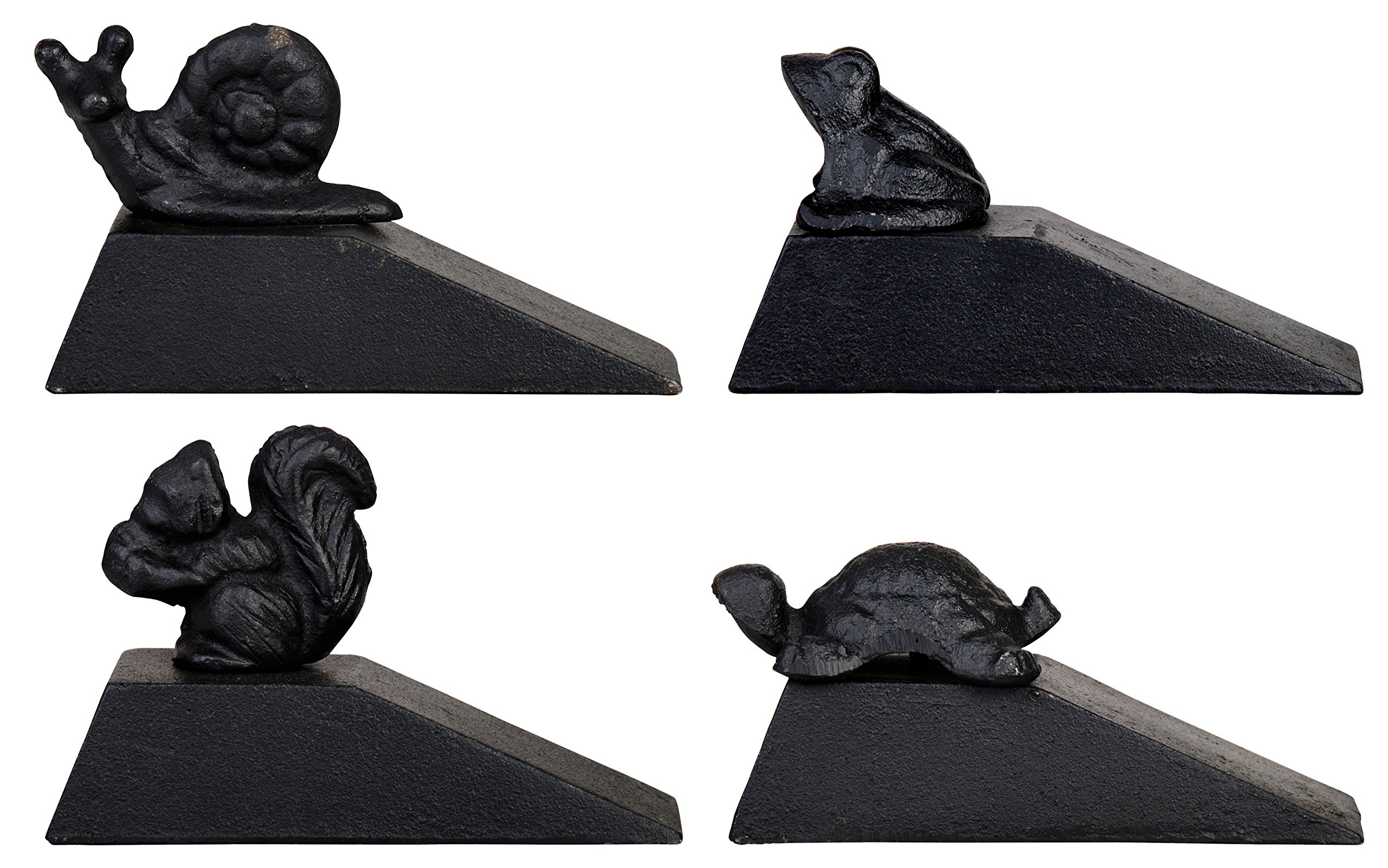 Esschert Design LH54 Doorstop, Squirrel/Turtle/Snail/Frog