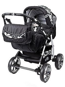 Kunert VIP - Cochecito de bebé, sillita cochecito Version Promenade sistema 3en1, protección lluvia, mosquitera - color 42: Amazon.es: Bebé