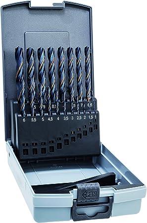 ALPEN 9083810 Estuche Brocas Hss Sprint Master 19 Piezas, 0 W, 0 V, Set: Amazon.es: Bricolaje y herramientas