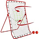 Rukket Pitch Back Baseball/Softball Rebounder PRO | Pitching and Throwing Practice Partner | Adjustable Angle Pitchback…