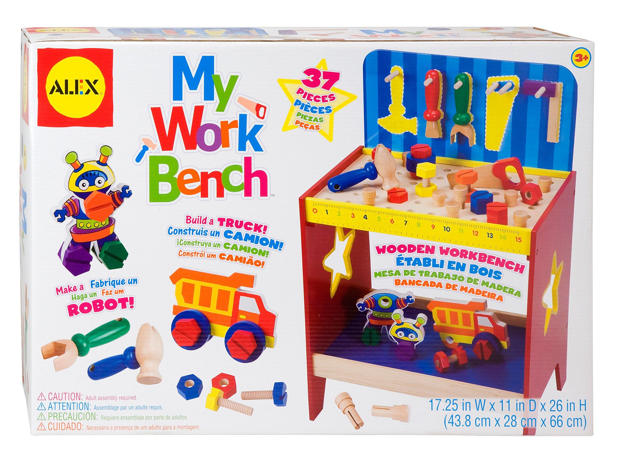 ALEX Toys My Work Bench Activity Center