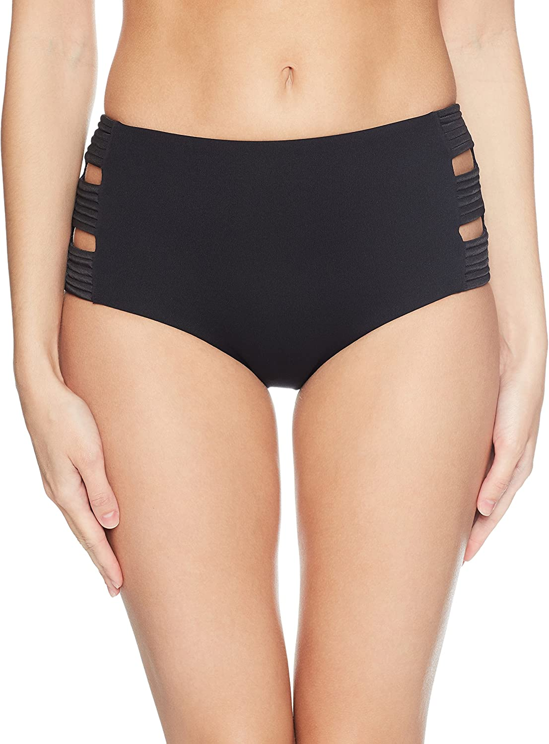 Seafolly Damen High Waisted Quilted Pant Bikinihose
