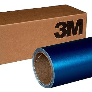3M 1080 G227 GLOSS BLUE METALLIC 5ft x 2ft (10 Sq/ft) Car Wrap Vinyl Film