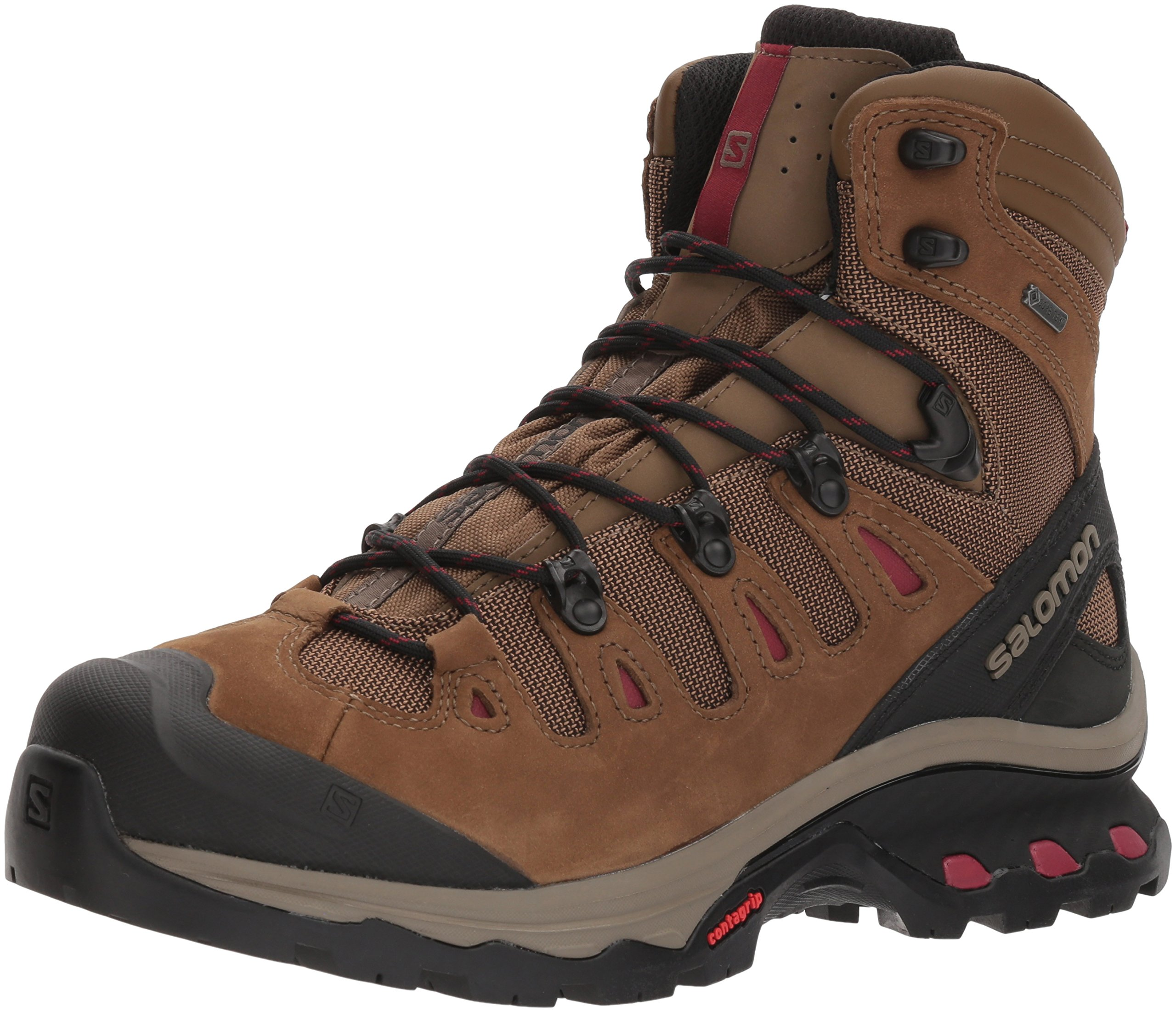 Salomon Women's Quest 4D 3 Gtx W Backpacking Boots, Teak, 5 B US