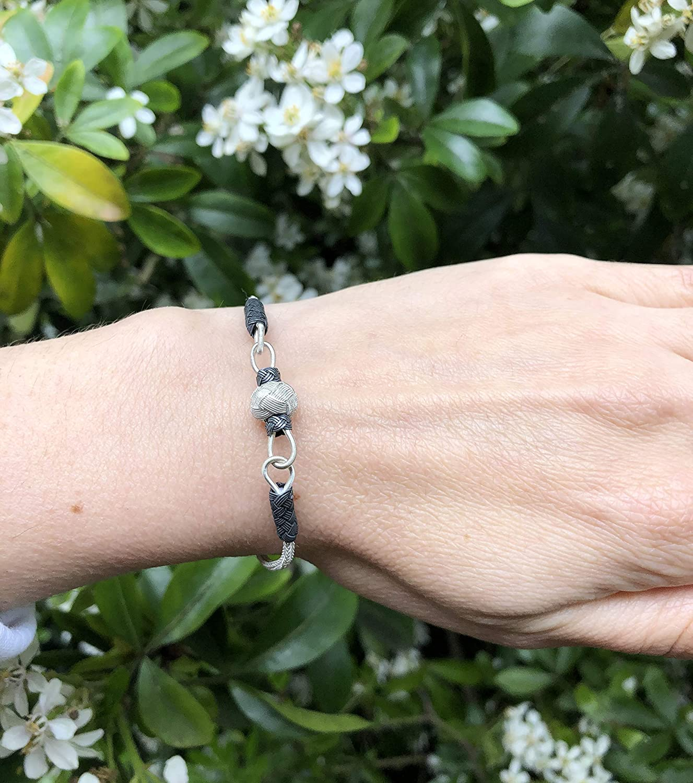 Thin Silver Bracelet Wonderful Gift Knitted Bracelet Women Wire Bracelet Bracelet Silver WOVEN BRACELET Silver Bracelet