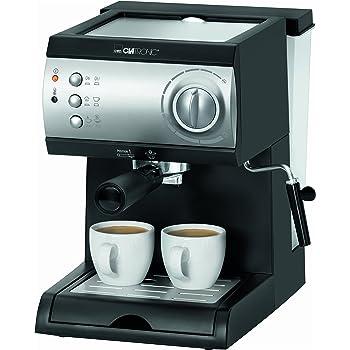 Einige Espressomaschinen, wie das Gerät von Clatronic, sind auch für mehrere Espressos konzipiert.