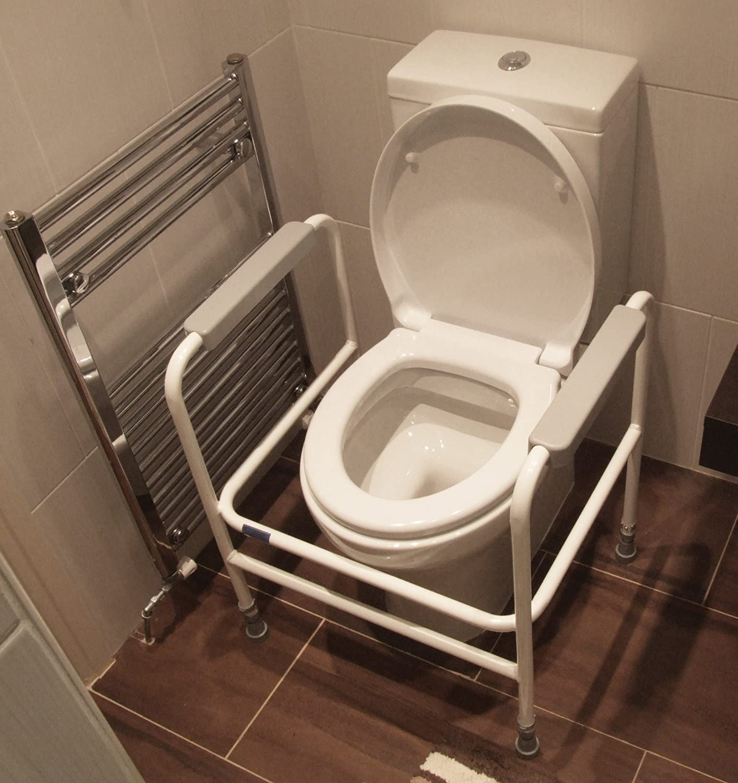 Aidapt Ashford Adjustable Toilet Frame (Eligible for VAT relief in ...