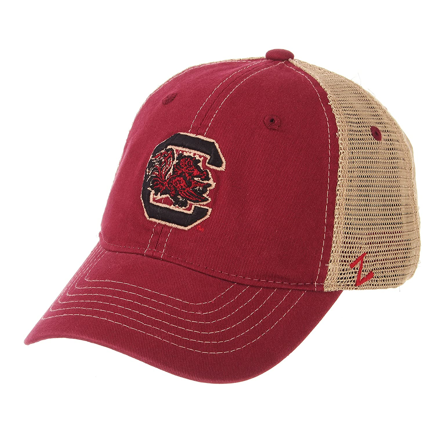 Zephyr Mens Institution Relaxed Cap Adjustable Cardinal