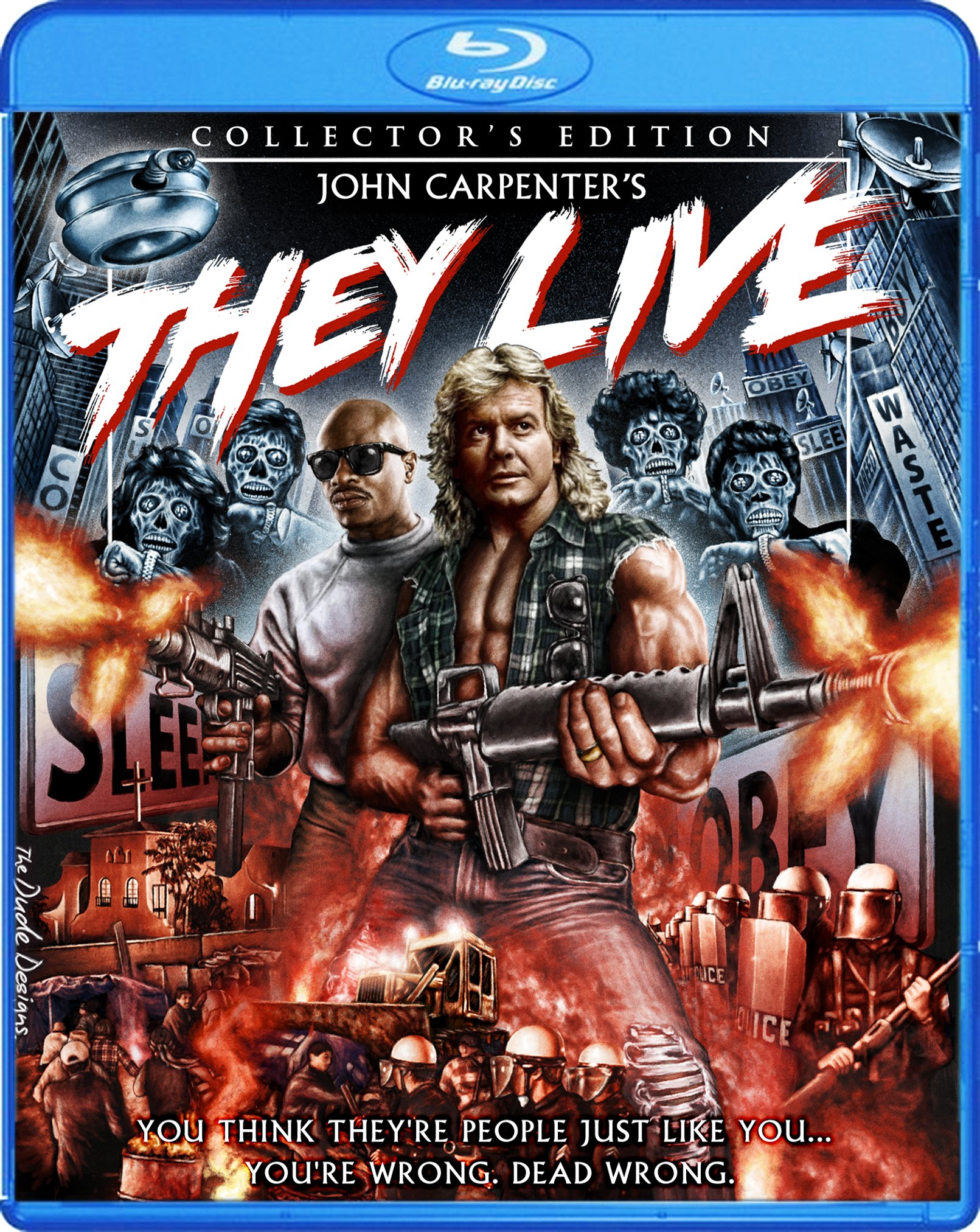 Blu-ray : They Live (Collector\'s Edition) (Blu-ray)