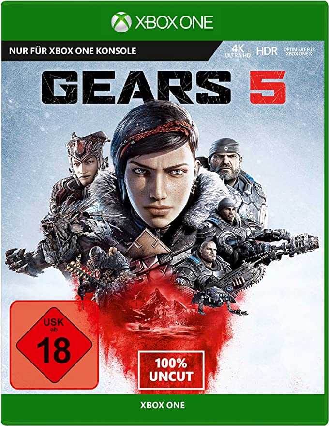 Gears 5 - Standard Edition - Xbox One [Importación alemana ...