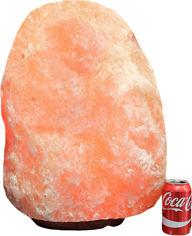 IndusClassic Giant Natural Himalayan Crystal Rock Salt Lamp 125~135 lbs