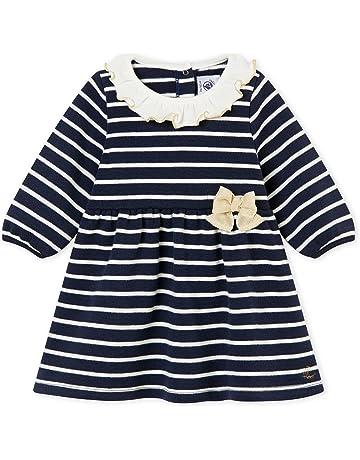 01dc4262ca8c7 Petit Bateau Robes ML Bébé Fille