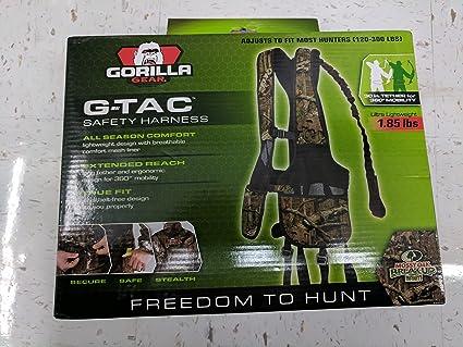 91fisFzYG L._SX425_ amazon com gorilla gear g tac safety harness mossy oak break up