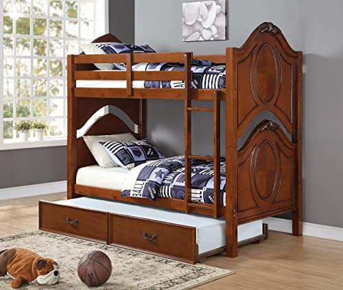 ACME Classique Twin/Twin Bunk Bed