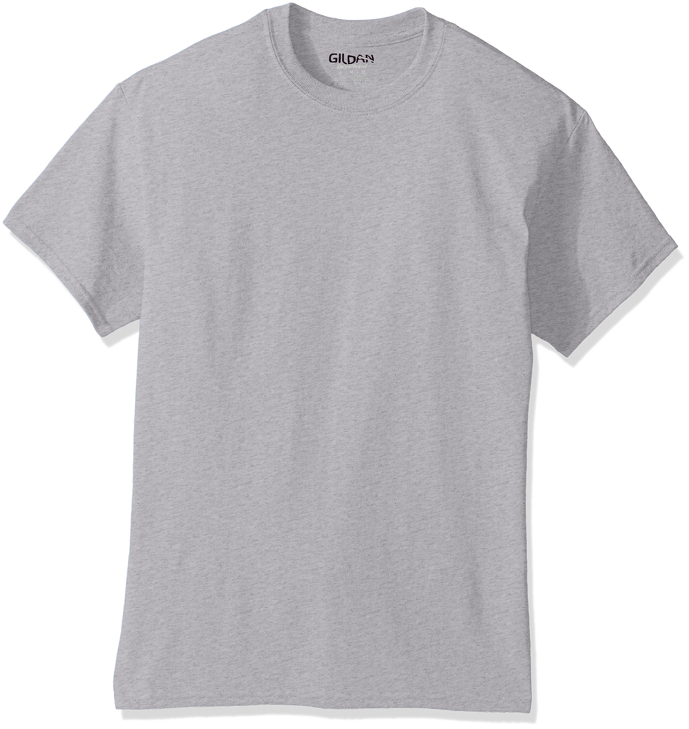 Gildan Men's DryBlend Classic T-Shirt, Ash Grey Large